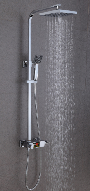 Intelligent thermostatic digital shower faucet XS-M9101-3